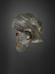 Roman Iron and Bronze Helmet