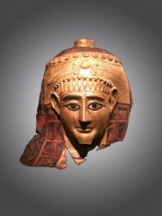 Cartonnage mummy mask