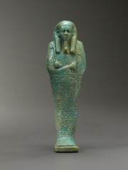 Faience mummiform ushabti