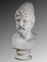 Marble head of Odysseus