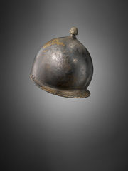 Bronze Montefortino helmet